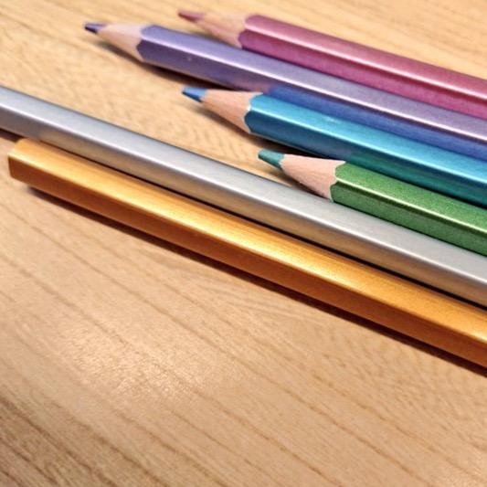 100均のおすすめ色鉛筆【評価・口コミ・感想】